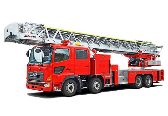 はしご付消防自動車 54m級写真