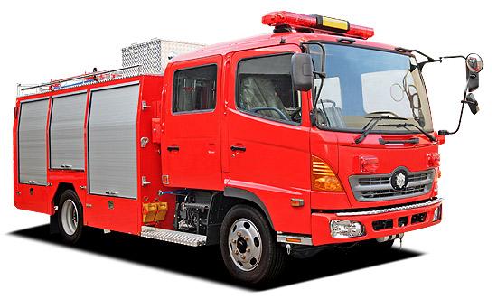 株式会社モリタ|消防車|水槽付...